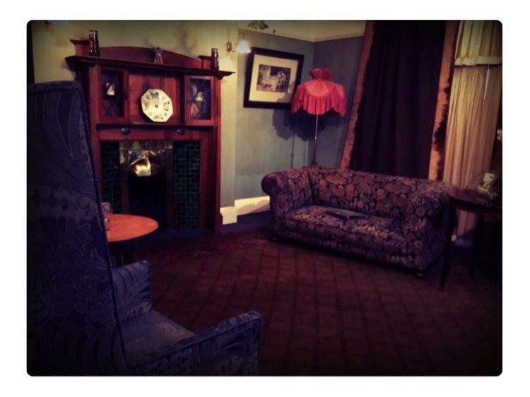 Edwardian period room
