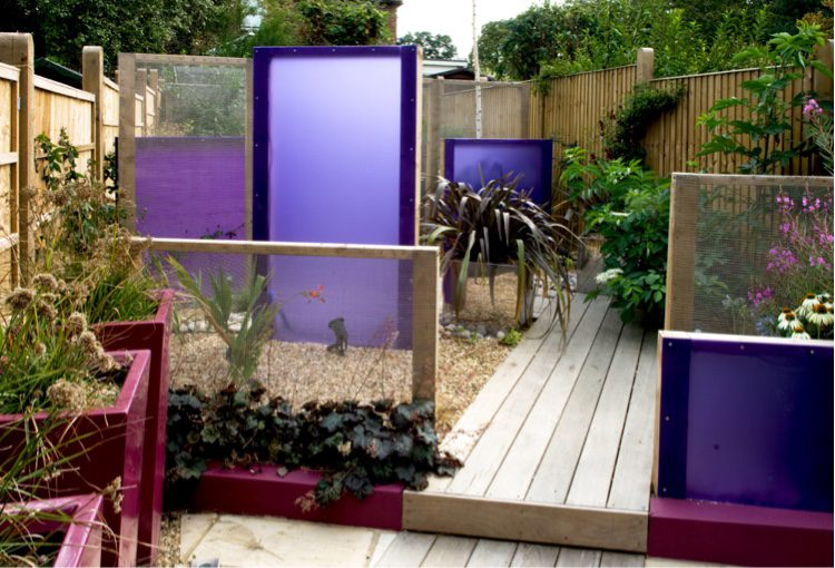Perspex panels ensure its never a dull moment