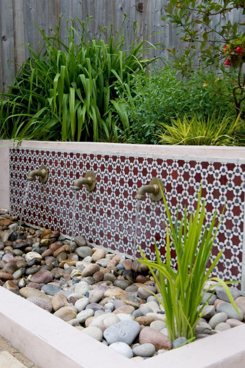 Tiling give fabulously interesting colour