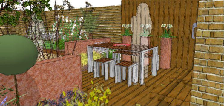 Trapdoor storage works with the gardens complex levels