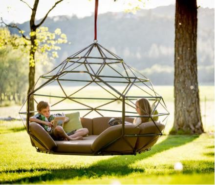 Garden furniture that really makes a statement