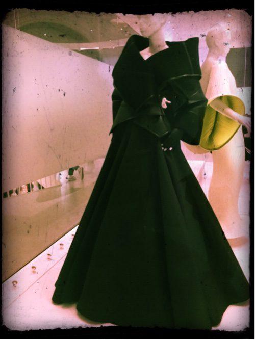 Balenciaga dress. Perfect garden design inspiration