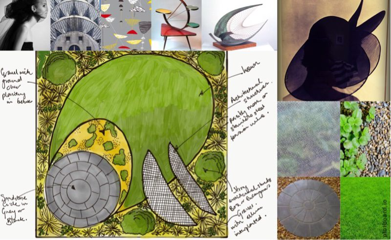 Inspired by Barbara Hepworth and Lucienne Day