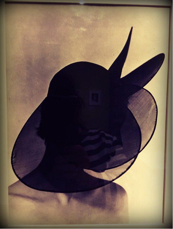 wonderful transparent hat by madame Paulette