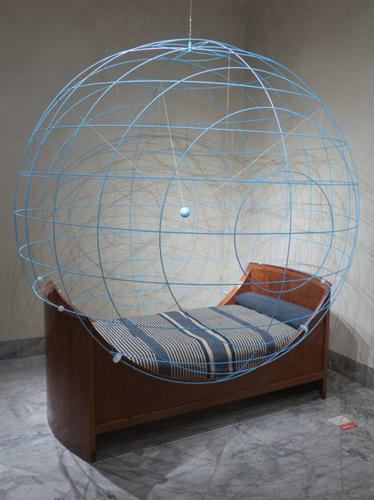 Circular garden design inspiration Kaare Klint spherical bed