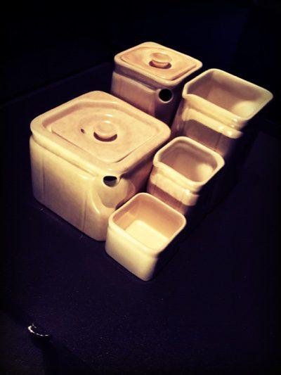 Cube tea set keeps the same shapes to create a stylish set