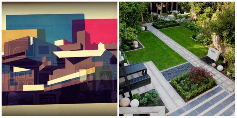 Garden design tip Create movement and flow in the garden by interlocking shapes