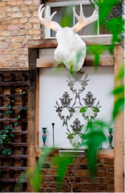A kooky element to your exterior makes for a fun element to your outside space
