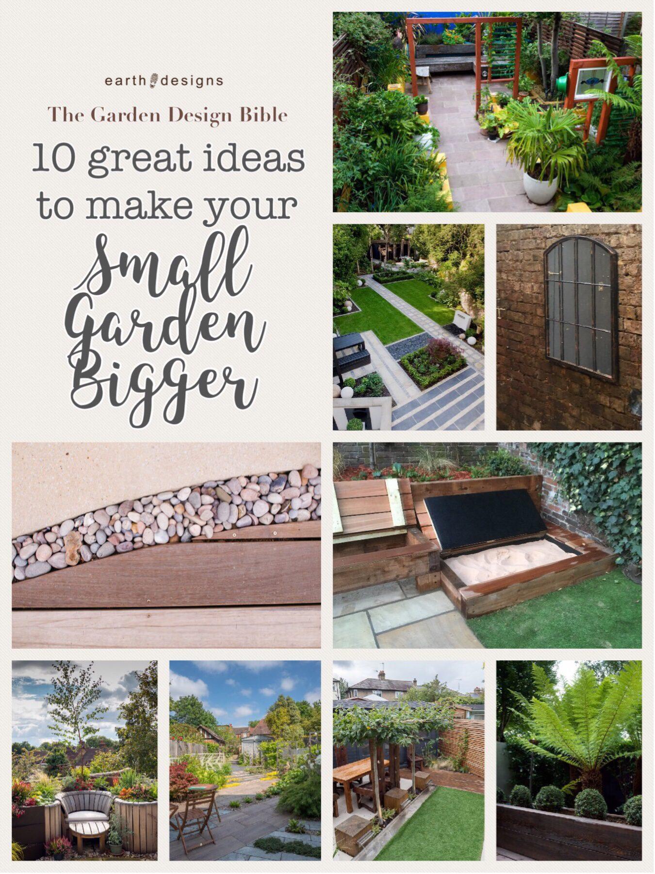 Earth Design - small garden design ideas