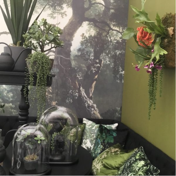 Pack your interior with on trend botanicals