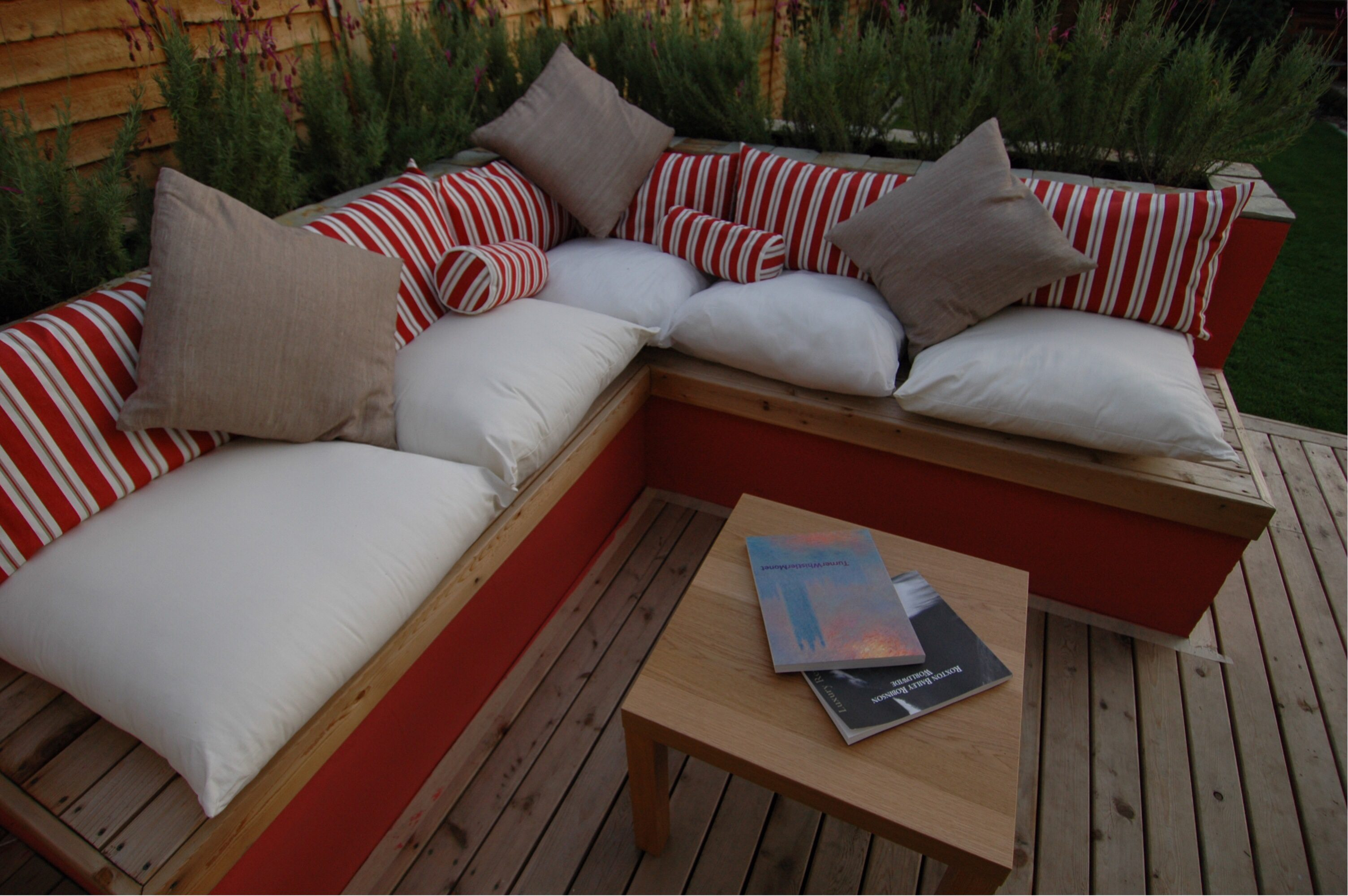 Great furniture helps with a successful garden design