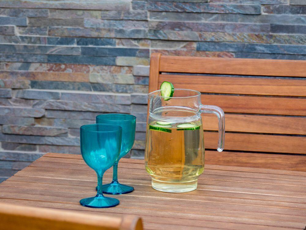 Cladding will make your garden patio design appear bigger