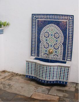 Garden water feature - freestanding