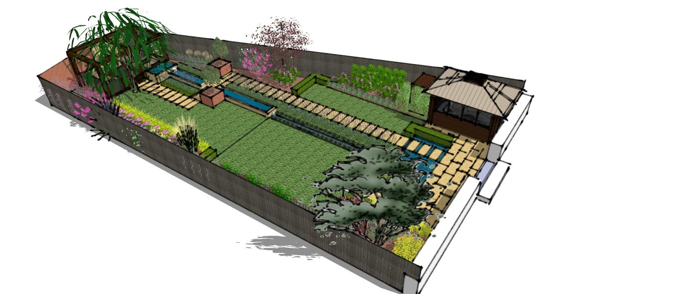 A Bee friendly garden design