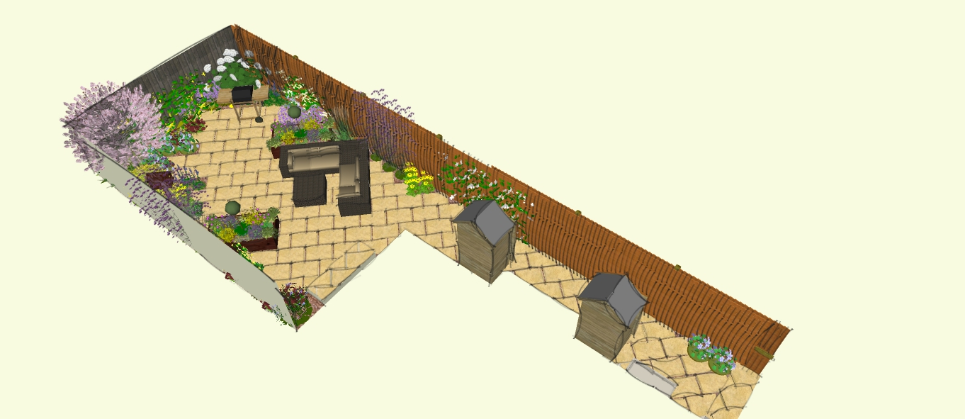 Ideas for a small garden