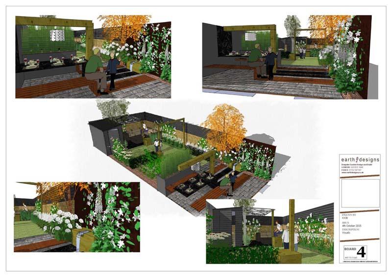 Earth Designs' ideas for dream decking in garden