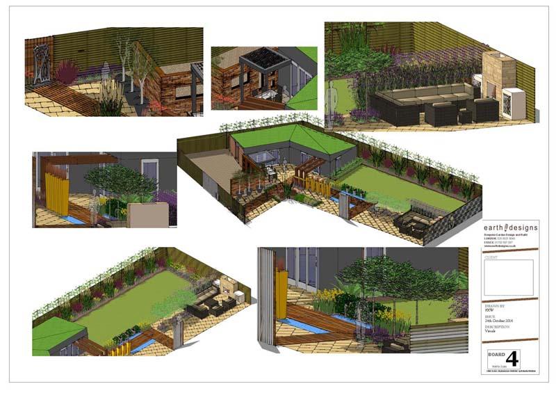 Earth Designs - family garden design london