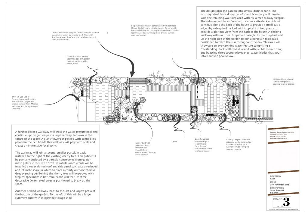 Earth Designs - drawings for garden layout