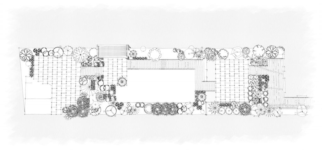 layout for the keen gardener design