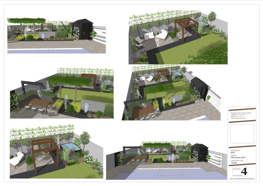 Earth Design's contemporary garden