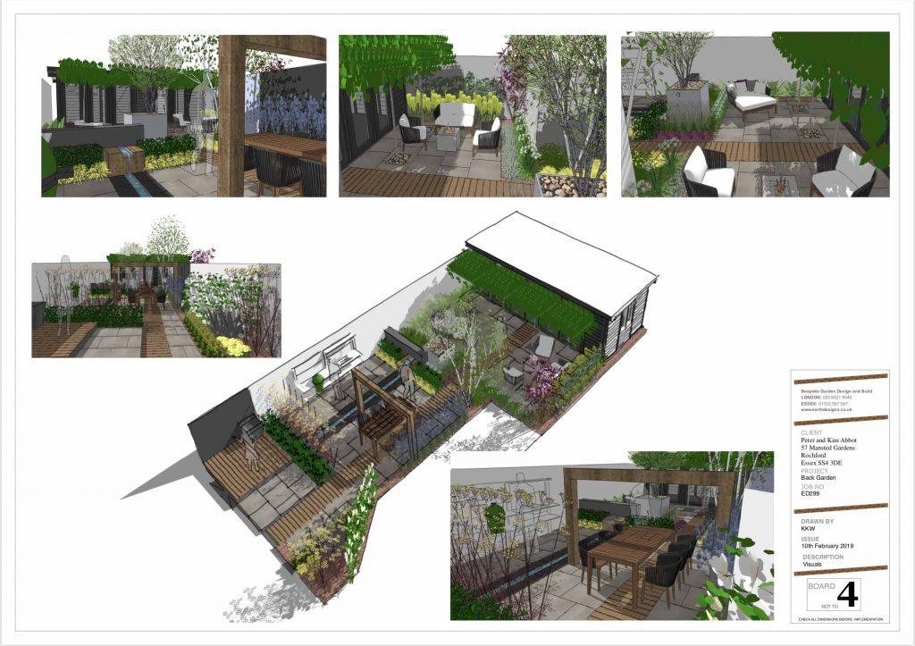 Essex garden design