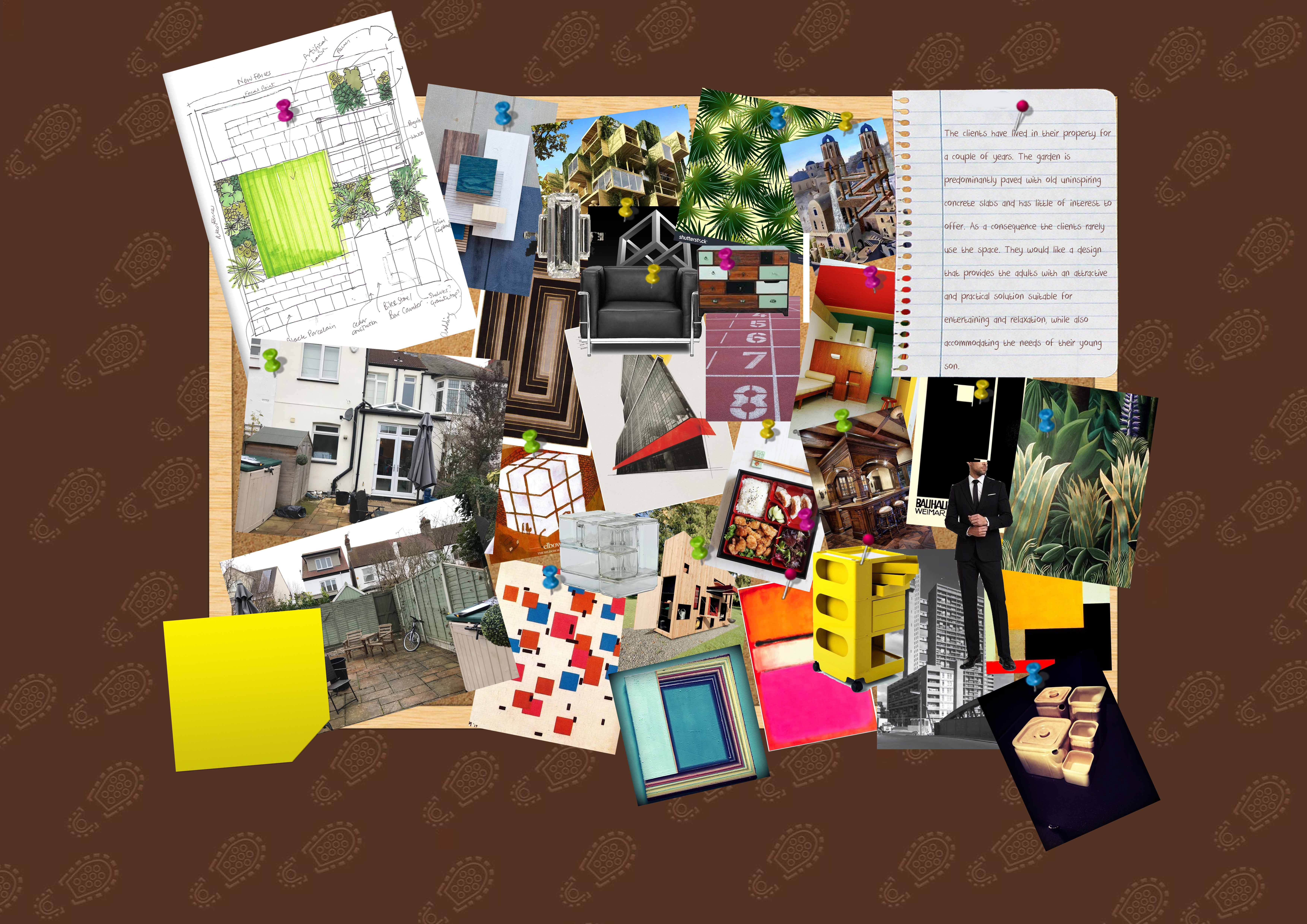 Earth Designs - moodboard for inspiring garden design