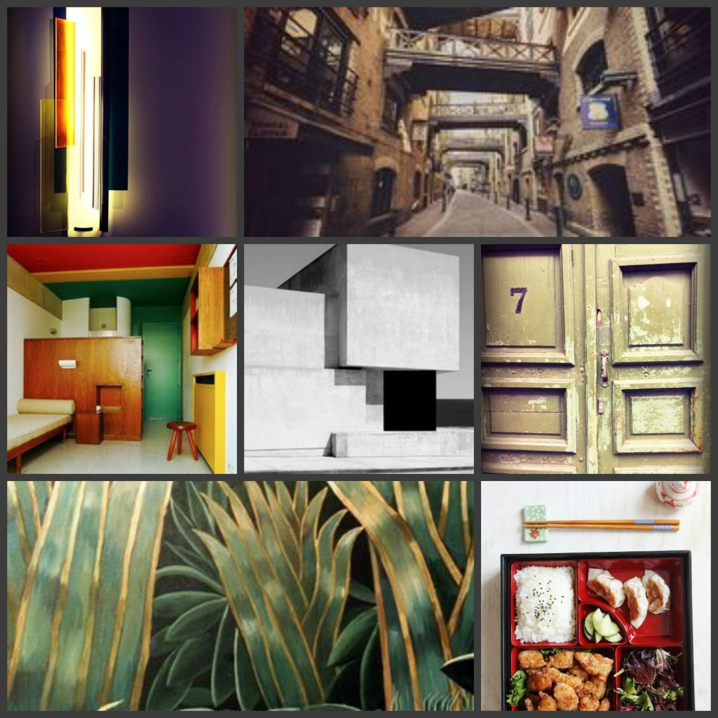 mood board - earth designs