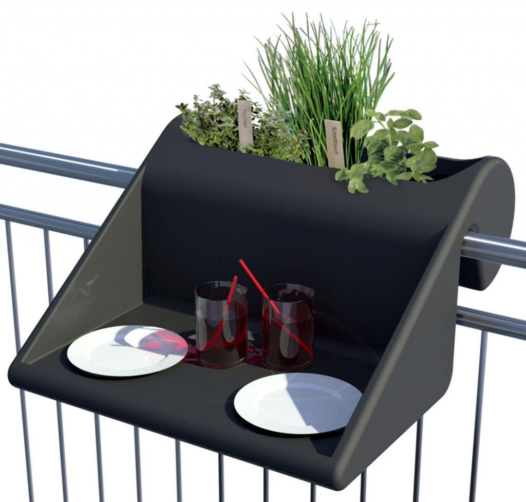 Balkonzept End garden table