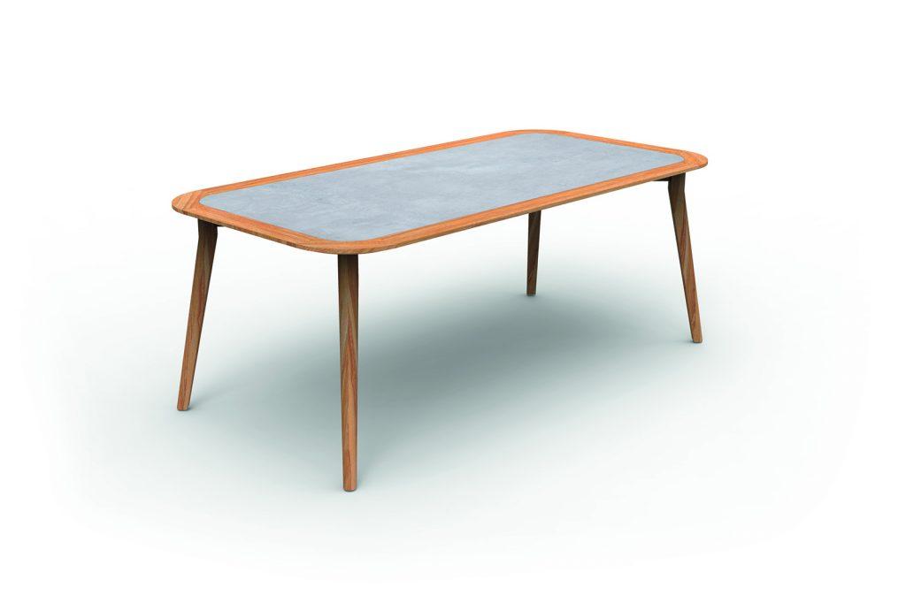Moon Teak garden table
